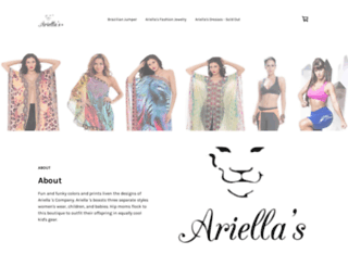 ariellas.com screenshot
