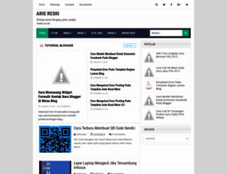ariereski.blogspot.com screenshot