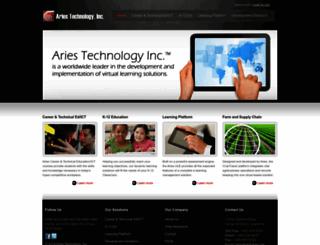 aries.net screenshot