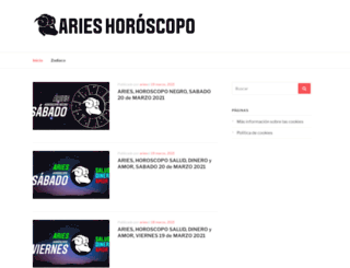 arieshoroscopohoy.com screenshot