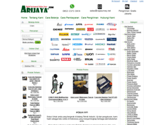 arijaya.com screenshot