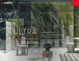 ariostea-high-tech.com screenshot