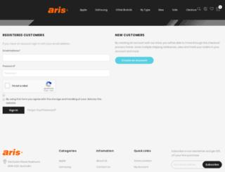 aris-mobile.com.au screenshot