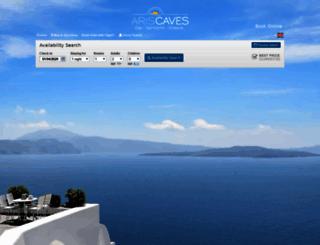 ariscaves.reserve-online.net screenshot