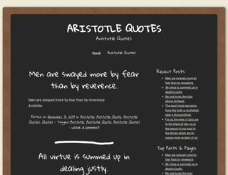 aristotlequote.wordpress.com screenshot