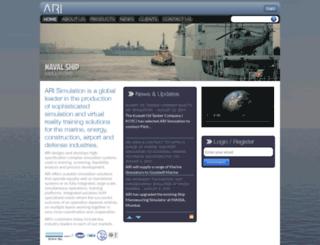 ariworld.com screenshot