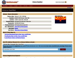arizona.hometownlocator.com screenshot