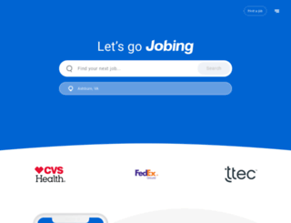 arizona.jobing.com screenshot