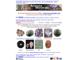 arizonaminerals.com screenshot
