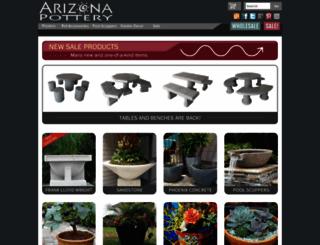 arizonapottery.com screenshot