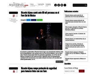 arjoneando.com screenshot