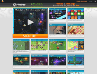 arkadeo.com screenshot