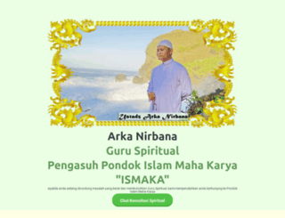 arkanirbana.com screenshot