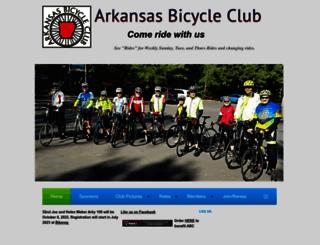 arkansasbicycleclub.wildapricot.org screenshot