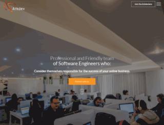 arkdev.net screenshot