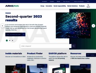 arkema.com screenshot