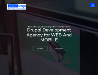 arkinc-design.com screenshot