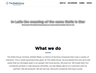 arknetmedia.com screenshot