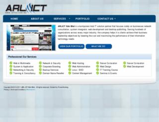 arlict.com.my screenshot