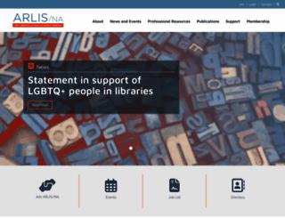 arlisna.org screenshot