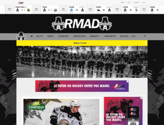 armadahockey.ca screenshot