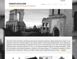 armenianvandalism.az screenshot