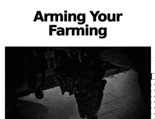 armingyourfarming.com screenshot
