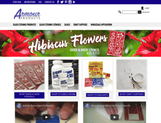 armourproducts.com screenshot