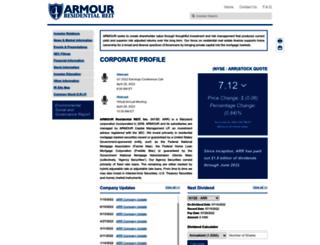armourreit.com screenshot