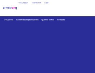 armstrongweb.com.mx screenshot