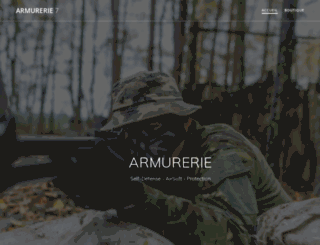 armurerie7riv.fr screenshot