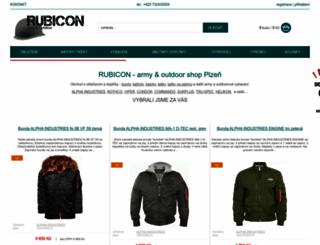 army-rubicon.cz screenshot