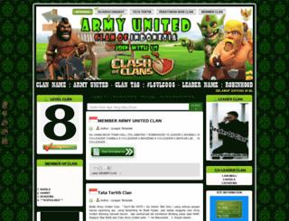 armyunited.blogspot.co.id screenshot