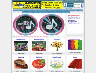 arneswarehouse.com screenshot