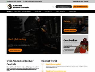 arnhemseborduurcentrale.nl screenshot