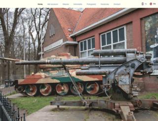 arnhemsoorlogsmuseum.com screenshot