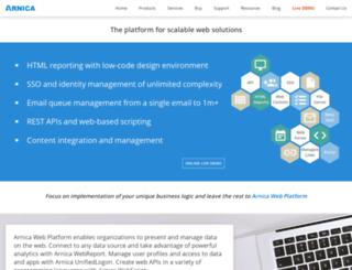 arnicasoftware.com screenshot