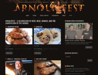 arnoldfest.com screenshot