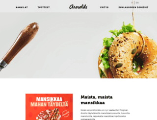 arnolds.fi screenshot