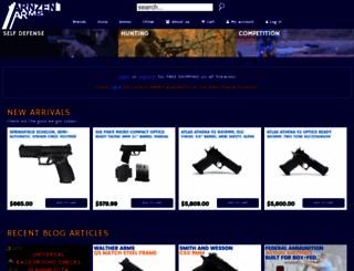 arnzenarms.com screenshot
