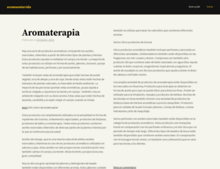 aromaentuvida.wordpress.com screenshot