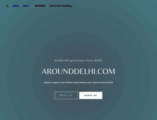 arounddelhi.com screenshot