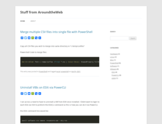 aroundtheweb.com screenshot