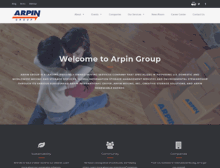 arpingroup.com screenshot