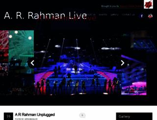 arrahmanlive.com screenshot