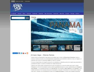 arriazavega.com screenshot