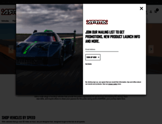 arrma-rc.com screenshot