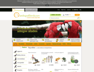 arrobaparktienda.com screenshot