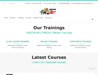 arrowanimations.com screenshot