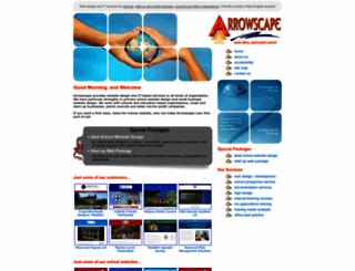 arrowscape.co.uk screenshot